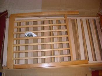 Elemente componente ale patutului de lemn