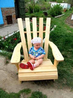 Sezlong DIY din lemn