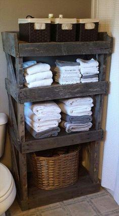 Raft pentru baie pentru depozitare si organizatoare