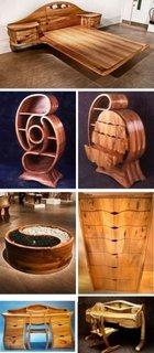 Piese de mobilier din paleti din lemn
