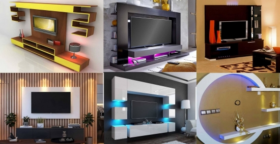 29 de IDEI - MOBILIER ELEGANT pentru peretele cu TELEVIZORUL