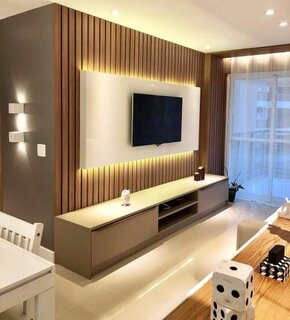Idee de amenajare perete cu televizor