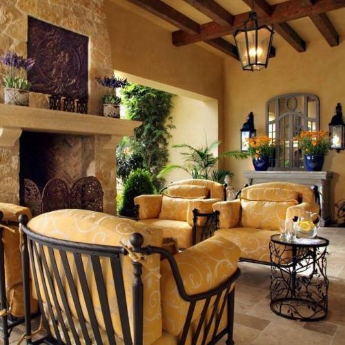 Set canapea si fotolii pentru interior din fier forjat