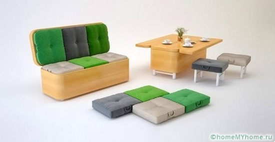Mobilier multifunctional