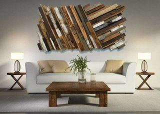 Masuta living din paleti din lemn