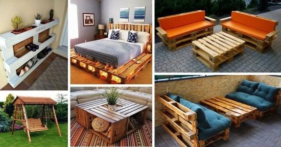 Mobilier din paleti din lemn