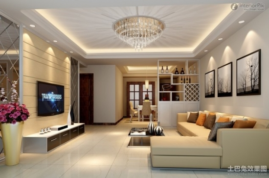 idee amenajare living de lux