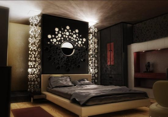 Design luxuriant si teatral pentru dormitor