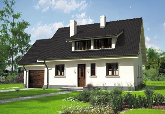 Model de casa simpla cu 4 dormitoare