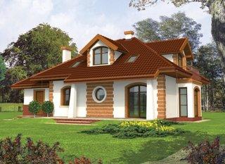 Casa de vis cu mansarda si garaj
