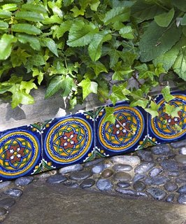 Bordura din blocuri ceramice