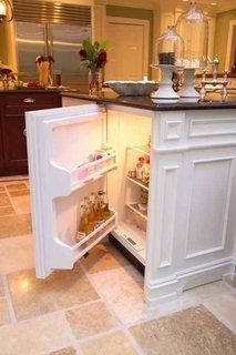 Mini-frigider incorporat in mobila de bucatarie