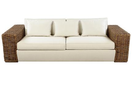 Canapea de exterior de trei locuri