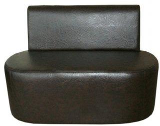 Canapea pentru terasa din piele ecologica