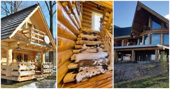 Case din lemn si busteni pentru vacante reusite