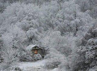 Peisaj superb  de iarna