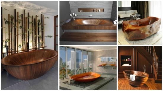 Cazi din lemn - un trend in materie de design pentru obiectele sanitare