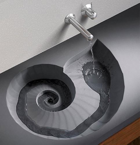 Idee ingenioasa de scurgere a apei