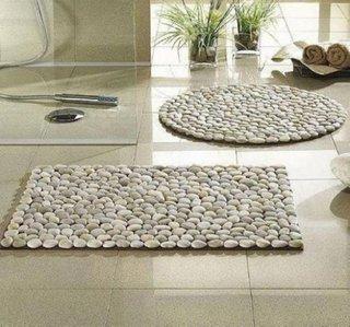 Covor pentru baie din pietre