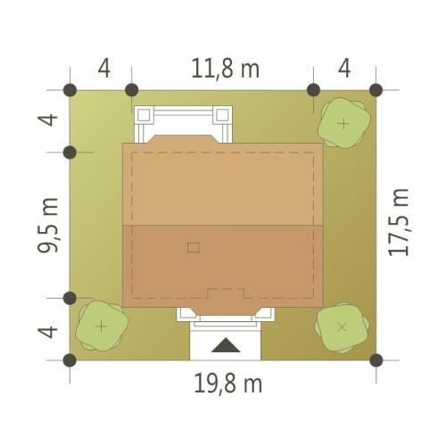 Dimensiuni casa cu un singur nivel