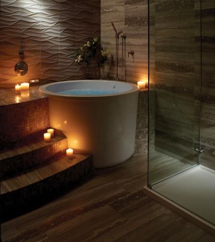 Model japonez de cada pentru o baie moderna