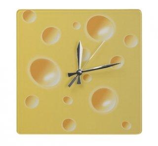 Bucata de cascaval model de ceas de perete