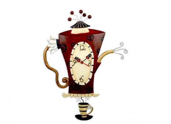 Ceas model ceasca  si ceainic