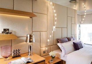 Corpuri de iluminat pentru dormitor cu multe spoturi atarnatoare