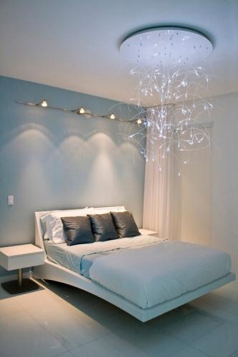 Model modern de lustra pentru dormitor cu fibra de sticla