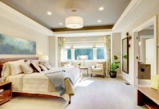 Model simplu de tavan fals pentru dormitor