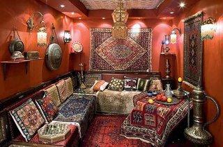 Tesaturi in stil oriental