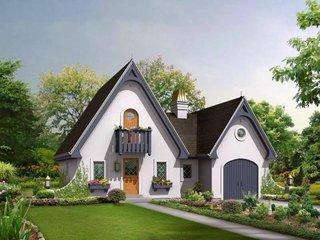 Exterior casa in stil englezesc