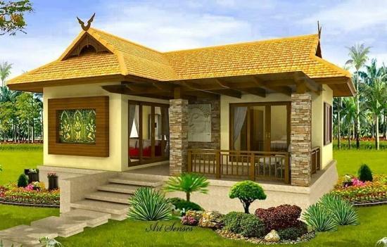 Model de casa in stil asiatic
