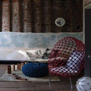 Scaun modern de plasa de hamac