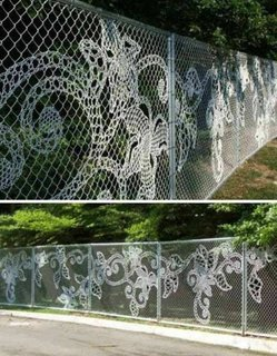 Gard din sarma impletita personalizat