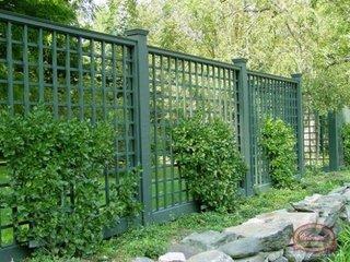 Gard zincat verde
