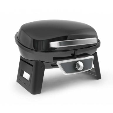 Gratar gaz portabil negru Grillchef 12050