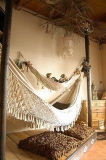 Hamacul - locul ideal pentru relaxarea mintii