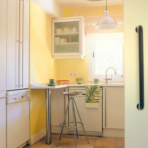 Modele de mese pentru bucatarii mici - cum il alegi pe cel potrivit + 30 de IMAGINI