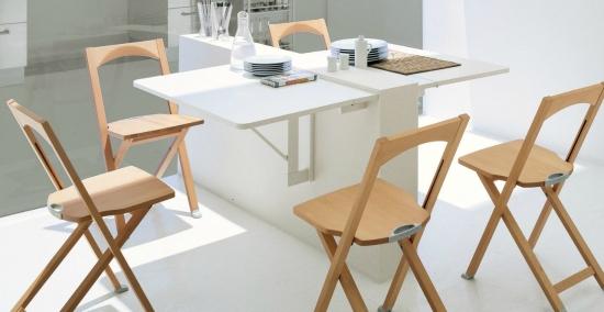 model inedit de masa pliabla dubla montata pe perete. Black Bedroom Furniture Sets. Home Design Ideas