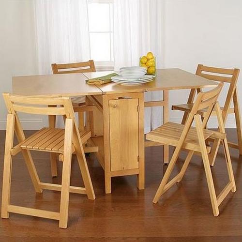 Set cu masa si scaune pliante