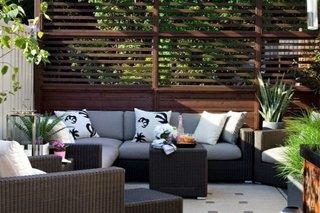 Exemplu de amenajare terasa relaxanta