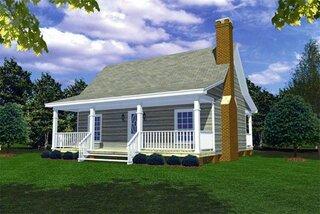 Casa 3 cu parter dimensiuni reduse