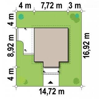 Dimensiuni casa diamant