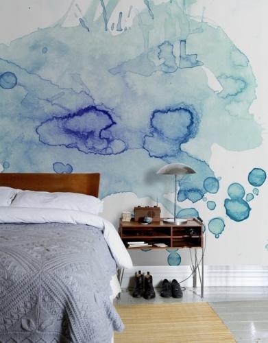 Pictura creativa pe perete