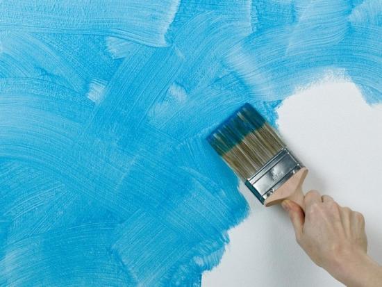 Zugraveala colorata aplicata peste strat albe
