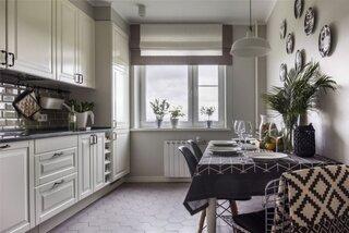 Bucatarie frumoasa de apartament