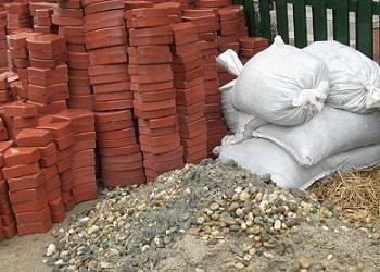 materiale necesare pentru montarea pavajului de gradina