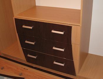 Montare sertare sifonier la mobila dormitor
