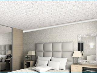 Dormitor cu tavan fals din polistiren